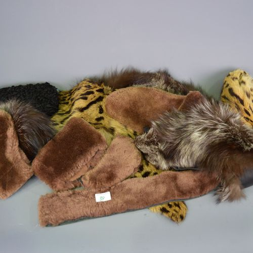 Set of furs.