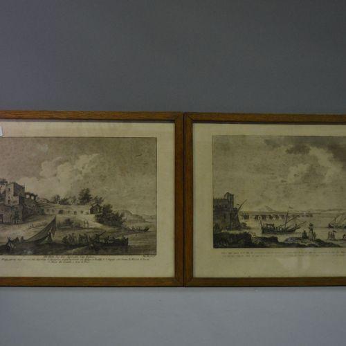 2 Italian engravings.