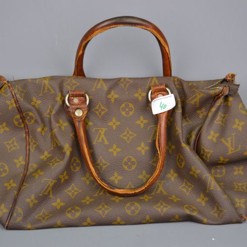 Louis Vuitton bag.