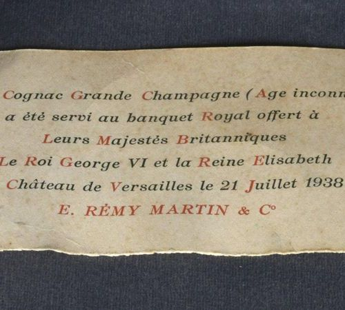 France  1 bottle COGNAC REMY MARTIN LOUIS XIII Grande Champagne Very Old Age unk…