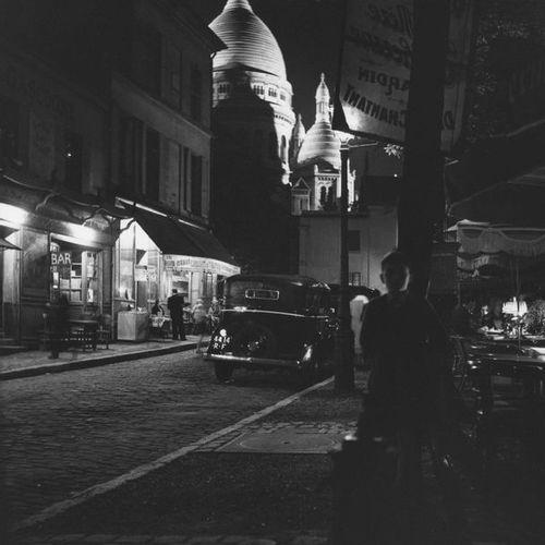Roger SCHALL (1904 1995) Montmartre, Paris, ca. 1930  Photographie, tirage argen…