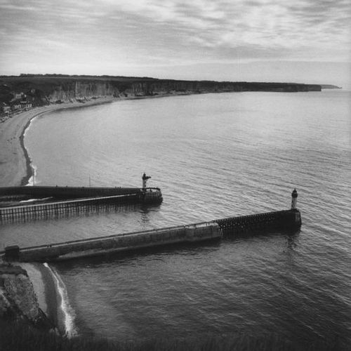 Roger SCHALL (1904 1995) Le port de Fécamp, ca. 1930  Photographie, tirage argen…