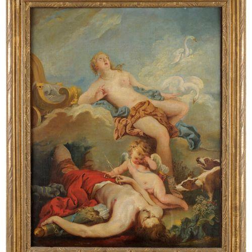François BOUCHER et son atelier (Paris 1703 1770)  Vénus pleurant la mort d'Adon…