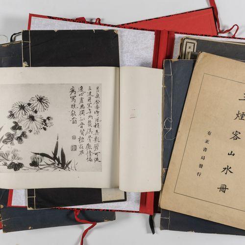 Chine,  de l'époque Minguo (1912 1949) aux années 1960  Lot de documentation et …