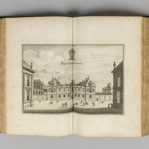 MERIANS. ZEILLER. Topographia Gallia. Frankfurt am Main, Gaspar Mérians, 1655 16…