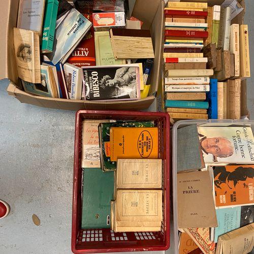 Lot de livres brochés, romans etc