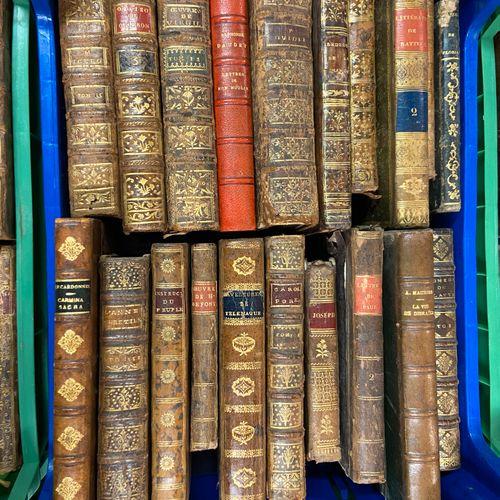 Lot de livres reliés, XVIII, XIX et XXe