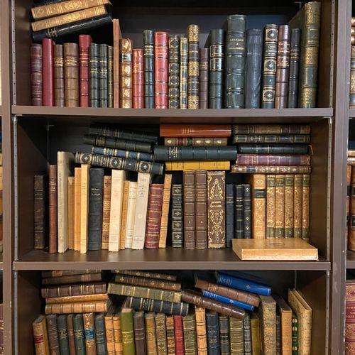 Fort lot de livres reliés, classiques, XIXe, (Racine, Histoire, Louys etc)