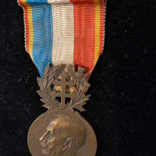 Médaille de la Délégation Lafayette des Chevaliers Colombs à l'éffigie du Maréch…