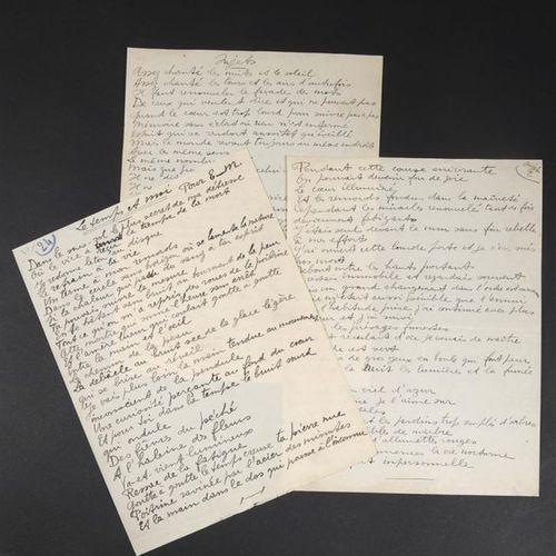 REVERDY Pierre [Narbonne, 1889 Solesmes, 1960], poète français associé au cubism…
