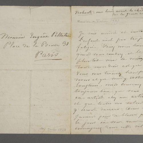 SAND George (Aurore Dupin, baronne Dudevant, dite) [Paris, 1804 Nohant, 1876], r…