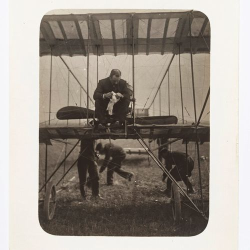 Lucien Loth (1885 1978)  Cockburn, aircraft n°39  Aviation week, August 1909  Vi…