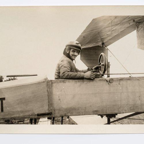 Lucien Loth (1885 1978)  Bathiat pilot on Bréguet n°3  Second Aviation Week, Jul…