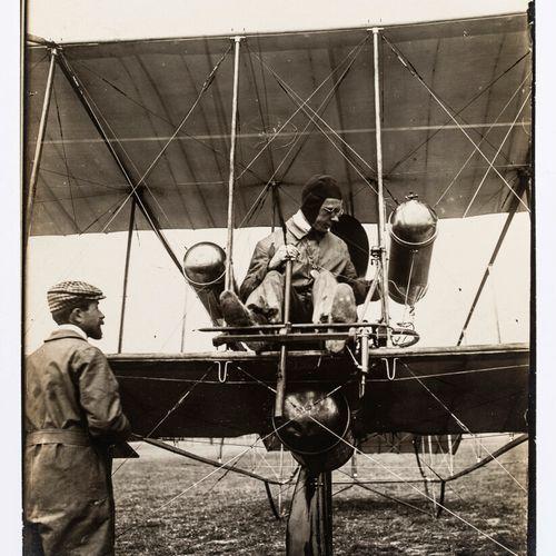 Lucien Loth (1885 1978)  Pilot  Aviation Week, August 1909  Vintage silver print…