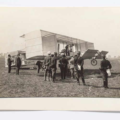 Lucien Loth (1885 1978)  Étienne Bunau Varillat with a passenger  Aviation week,…