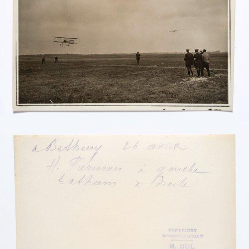ROL Agency (act. 1904 1937)  Farman in flight  Bétheny, Aviation Week, August 19…
