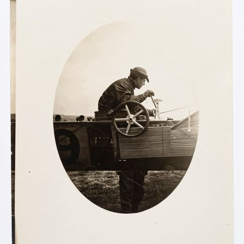 Lucien Loth (1885 1978)  Jules Hauvette prepares his last race  Second Aviation …