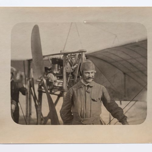 Lucien Loth (1885 1978)  Alfred Leblanc, pilot of monoplane n°23  Aviation week,…