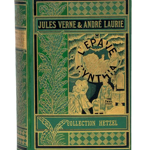[Terres polaires] L'Épave du Cynthia par Jules Verne & André Laurie. Illustratio…