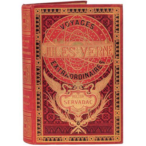 [Espaces célestes] Hector Servadac par Jules Verne. Illustrations de P. Philippo…