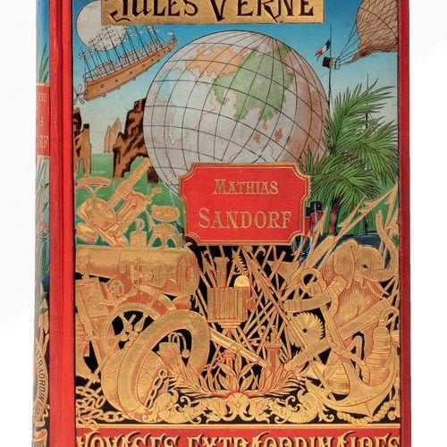 [Mers et Océans] Mathias Sandorf par Jules Verne. Illustrations de Férat. Paris,…