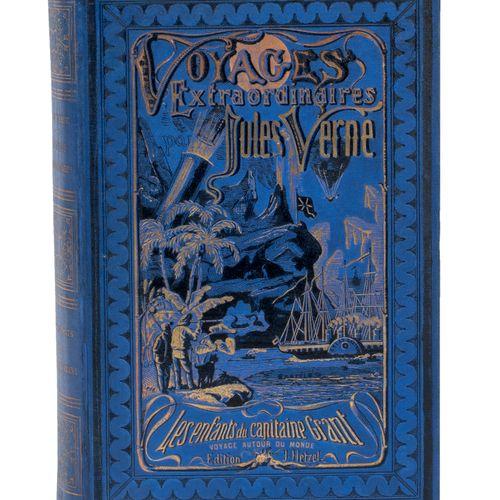 [Les Tours du Monde] Les Enfants du capitaine Grant par Jules Verne. Illustratio…