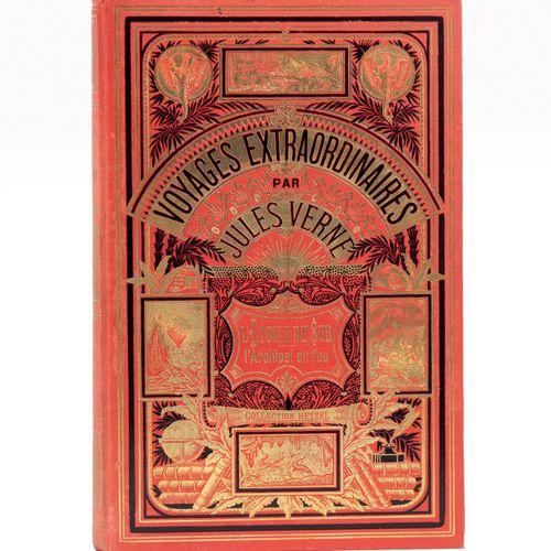 [Afrique] L'Étoile du Sud / [Grèce] L'Archipel en feu par Jules Verne. Illustrat…
