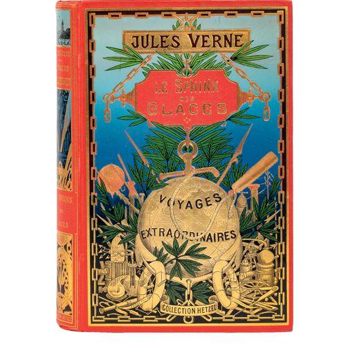 [Terres polaires] Le Sphinx des Glaces par Jules Verne. Illustrations de Georges…