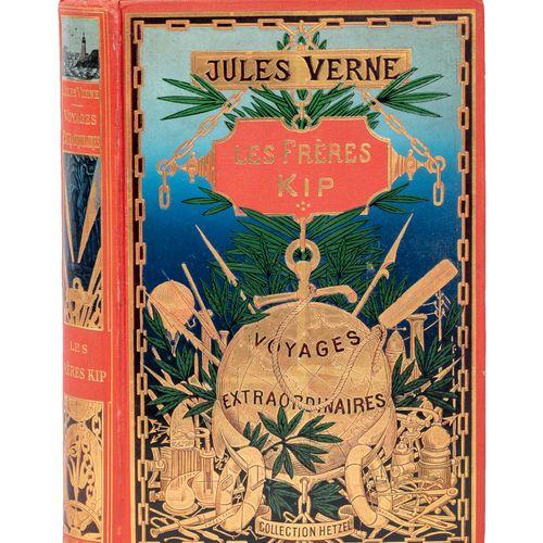 [Mers et Océans] Les Frères Kip par Jules Verne. Illustrations de George Roux. P…