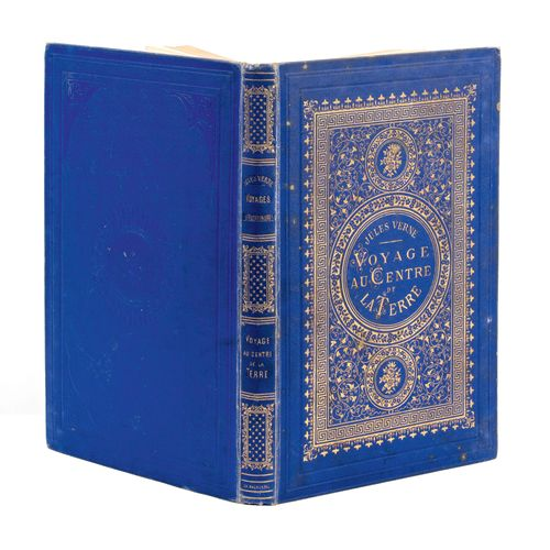 [Allemagne/Islande] Voyage au Centre de la Terre par Jules Verne. Illustrations …