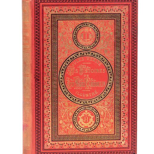 [Mers et Océans] Les Histoires de Jean Marie Cabidoulin par Jules Verne. Illustr…