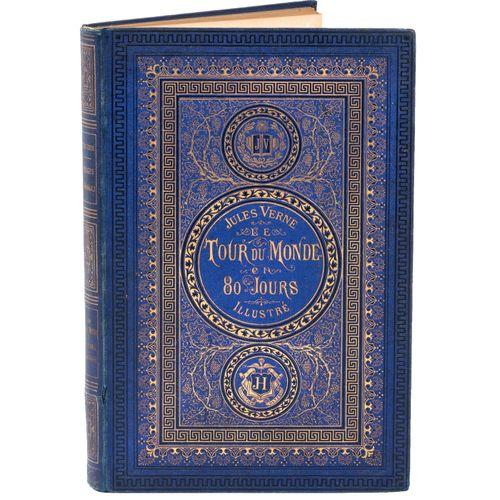 [Les Tours du Monde] Le Tour du Monde en 80 jours par Jules Verne. Ill. Par de N…