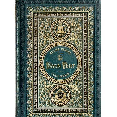 [Écosse] Le Rayon vert par Jules Verne. Illustrations de Benett. Paris, Biblioth…