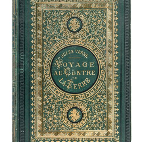 [Allemagne/Islande] Voyage au Centre de la Terre, par Jules Verne. Illustrations…