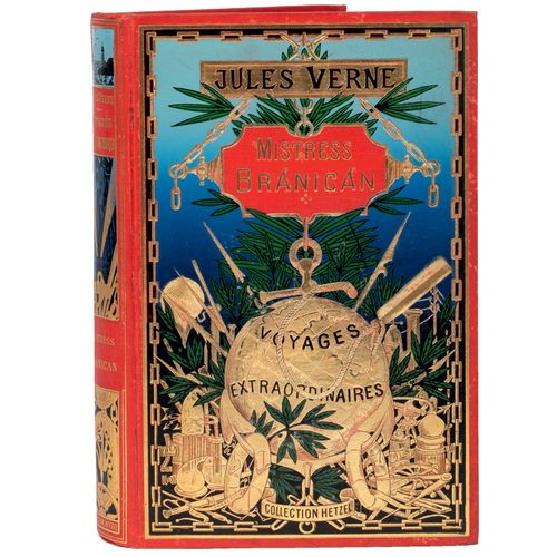 [Océanie] Mistress Branican par Jules Verne. Illustrations de L. Benett. Paris, …