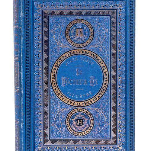 [Flandres] Le Docteur Ox par Jules Verne. Illustrations de Bertrand, Froelich, T…