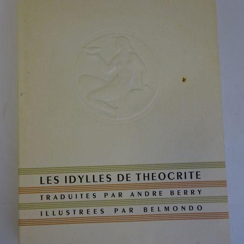 THEOCRITE. Les Idylles. Mises en Français par André Berry et Edgar Vales. Illust…