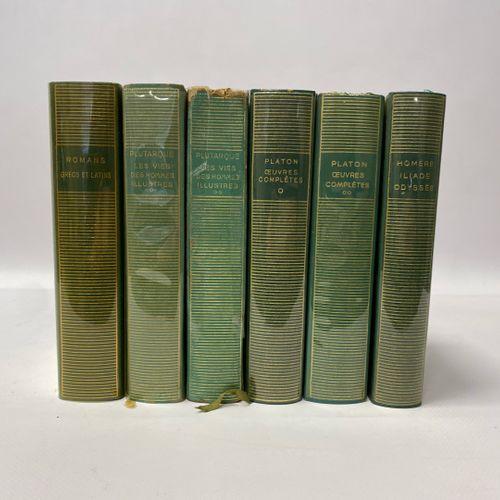 Auteurs classiques: PLUTARQUE, Les Vies d'Hommes Illustres, tome I et II, PLATON…