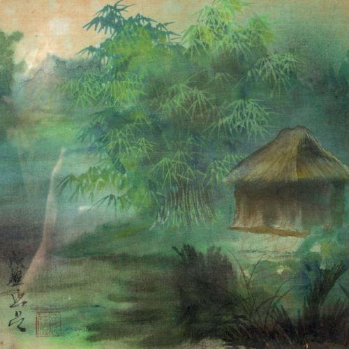 ECOLE VIETNAMIENNE / INDOCHINOISE (Vietnam / Indochine, XXe siècle) Impressions …