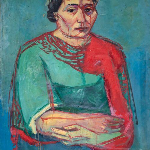 PIERRE TAL COAT (1905 1985) • Portrait de femme, 1935 Huile sur carton, signée e…
