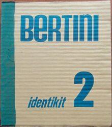 Gianni Bertini(1922 2010) • Identikit 2, Nansola 1984 Album in 4, 32 feuillets d…