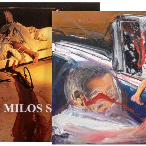 Milos SOBAÏC (1945 ) Peter Handke, Dimitri Analis, Milos Sobaïc, édition La Diff…