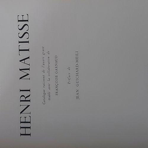 Henri MATISSE Marguerite Duthuit Matisse, Claude Duthuit, Henri Matisse • Catalo…