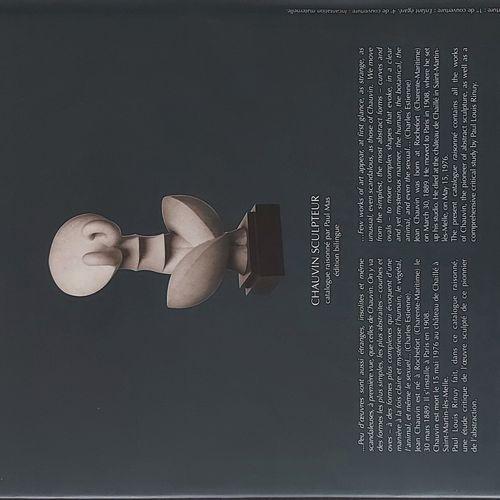 JEAN CHAUVIN Paul Mas, Jean Chauvin Sculpteur, Gourcouf Gradenigo, Paris, 2007 •…