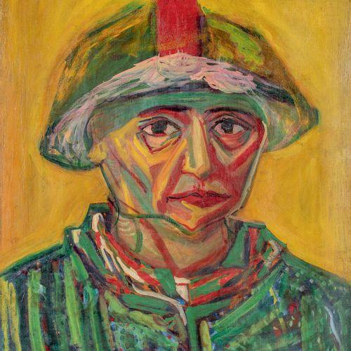 PIERRE TAL COAT (1905 1985) • Saltimbanque, 1936 Huile sur toile, monogrammée en…