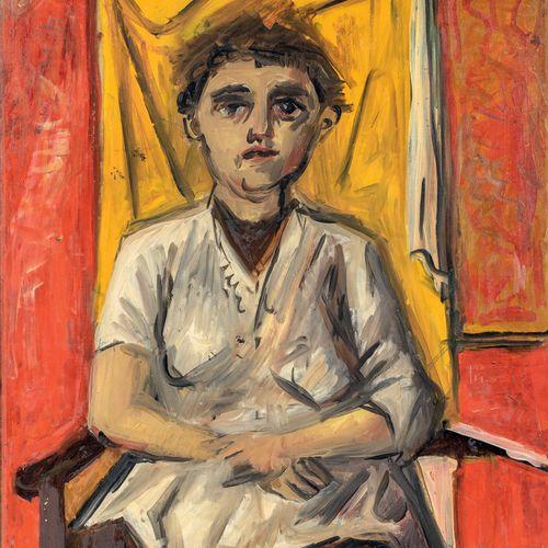 PIERRE TAL COAT (1905 1985) • Femme assise dans un fauteuil, 1937 Huile sur toil…