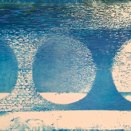 Eva JANOSKOVA (1935 ) • Le jouet, 1970 ; L' air, 1970 2 aquarelles laquées 20,5 …