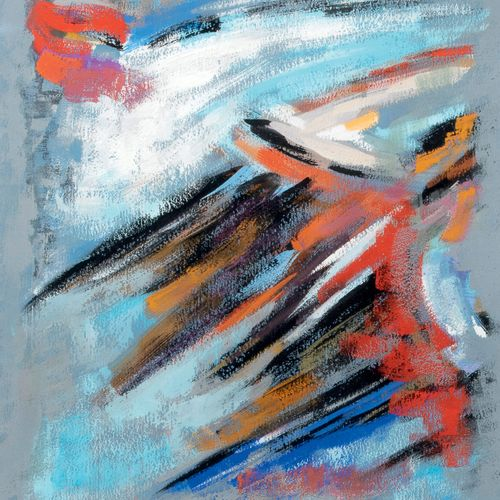 James PICHETTE (1920 1996) • Composition, 1959 Gouache sur papier, signée et dat…