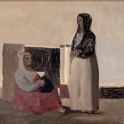 Pierre TAL COAT ( 1905 1985) • Femmes orientales, 1933 Huile sur panneau, monogr…