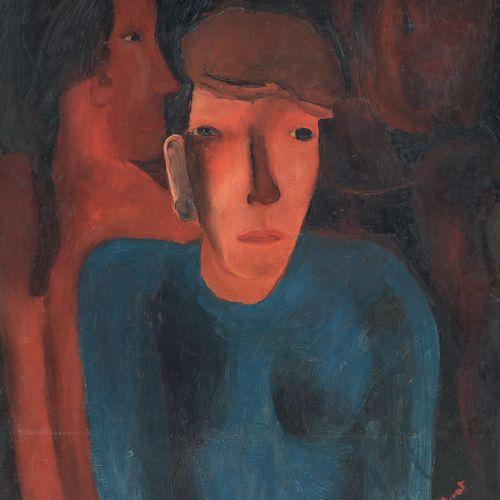 PIERRE TAL COAT (1905 1985) • Homme à la casquette, 1926 Huile sur toile, signée…